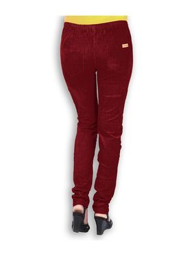 Uber Urban Corduroy Solid Jegging - Maroon_CORD-STR-JEGG-MARUN