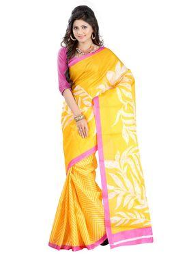 Combo Of 2 Carah Bhagalpuri Printed Saree_CRH-N298
