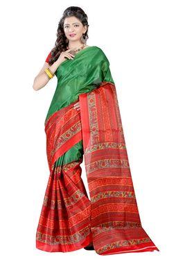 Combo Of 5 Carah Bhagalpuri Printed Saree_CRH-N305