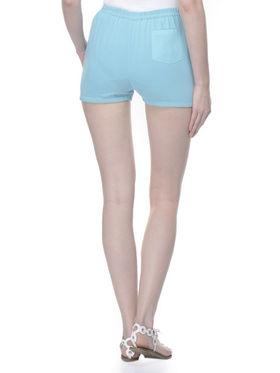 Lavennder Ladies Georgette Short With Lining - Sky Blue_LW-5146