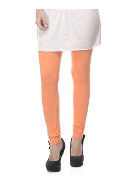 Combo Of 6 Lavennder Cotton Lycra Solid Legging_CNLEG-2904-2