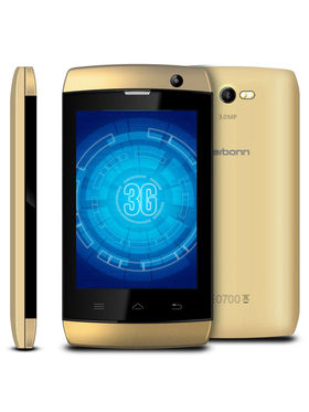Karbonn A1+ Android KitKat Dual SIM Smart Phone - Champagne