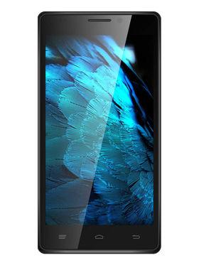 Intex Aqua Power HD Android 4.4.2 (KitKat) - Silver & Black