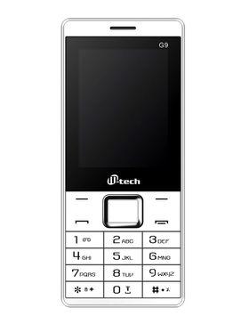 Mtech G9 Dual Sim Feature Phone - White