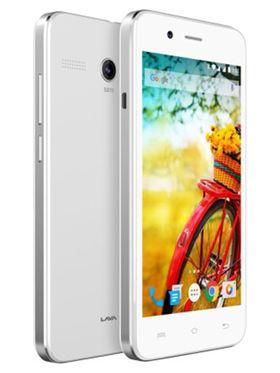 LavaIRIS ATOM 4 Inch Android v5.1Lollipop - White