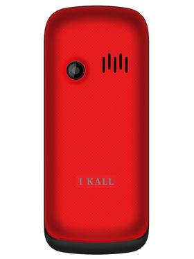 I Kall K55 Dual Sim Mobile - Black & Red