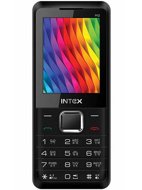 Intex Turbo M2 Dual Sim - Black & Red