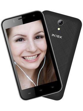 Intex Aqua Y4 Android (KitKat) 3G Smartphone - Black