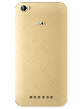Intex Cloud Swift Android (Lollipop) 4G Smartphone - Champagne