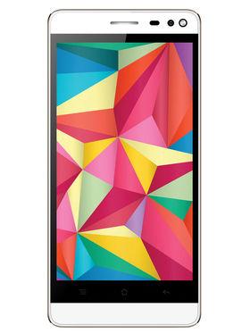 Intex Aqua Raze Android lollipop 4G Smartphone - White