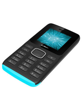 Lava Arc Magic + Dual Sim - Black & Blue