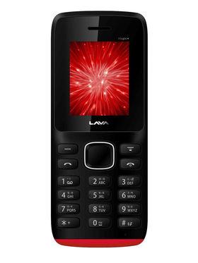 Lava Arc Magic + Dual Sim - Black & Red