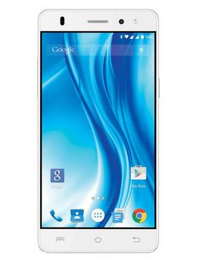 Lava X3 5 Inch Android Lollipop Smartphone - White & Silver