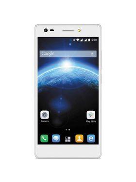 Lava V5 5.5 Inch 3 GB RAM 4G Calling Smartphone - Icy White