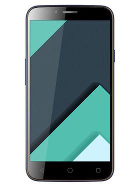 Karbonn Quattro (4G) L50-HD 5 Inch Android (Lollipop) Dual Sim Smartphone - Grey