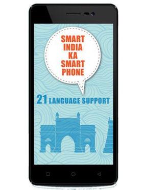 Karbonn K9 Smart Android (KitKat) Dual Sim 3G Calling Smartphone - Black & Gold