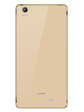Lava V2 5 Inch 64-bit Quad Core (RAM :3GB ROM : 16GB ) - Gold