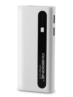 Ambrane P-1310 (13000 mAh) PowerBank - White & Black