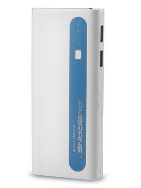 Ambrane P-1310 (13000 mAh) PowerBank - White & Blue