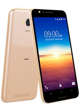 Lava A67 Lollipop 3G SmartPhone - Gold