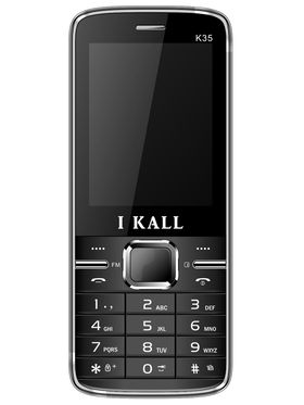 I Kall K35 Dual SIM Mobile Phone - Black