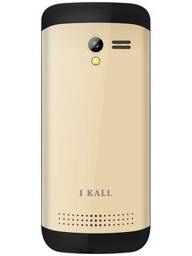 I Kall K38 Dual SIM Mobile Phone - Golden