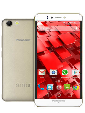 Panasonic P55 Novo Octa Core Processor, Android Kitkat with (2GB RAM : 16GB ROM ) Champagne Gold