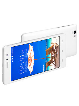 Lava A89 4G Lollipop 5.1 Quad Core Smart Phone (RAM:1GB ROM:8GB Upgradable:Marshmallow 6.0) White