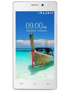 Lava A82 Lollipop 3G Smartphone (RAM : 1GB ROM : 8GB) White
