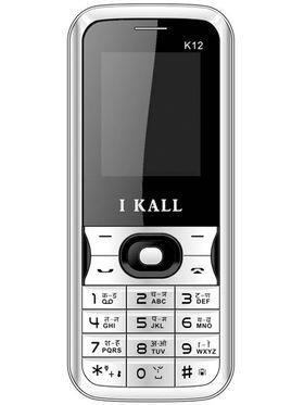 I Kall K12 Dual Sim Mobile Phone - White