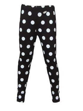 Pack of 2 Little Star Girl's Multicolor Leggings - BR_3211