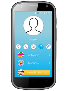 Swipe Junior Android v4.4 KitKat 3G Smartphone with Parental Control - Blue