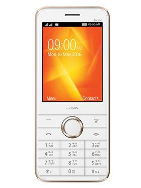 LAVA SPARK ICON X - White & Gold