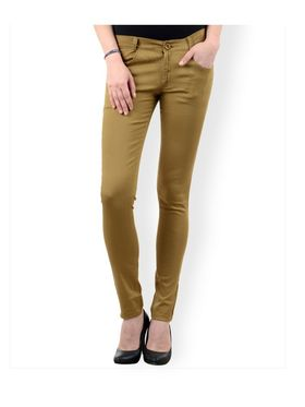 Women Slim Fit Cotton Lycra Stretchable Trouser - TGLCH-3
