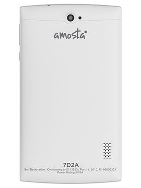 Amosta 7D2A 3G + Wi-Fi Calling Tablet (White)