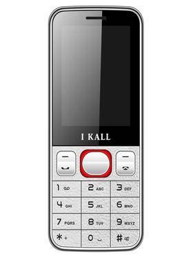 I Kall K23 Dual SIM Mobile Phone (White Red)