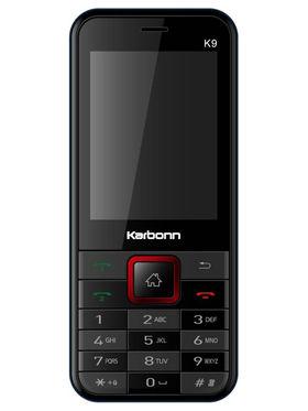 Karbonn Mobile Phone K9 (Black & Red)