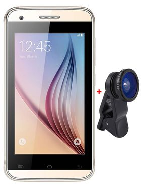 TYMES Y4DT Dual SIM Smartphone (Golden)