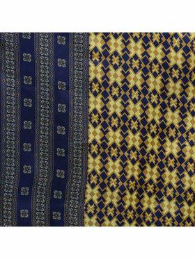 Florence Yellow Polycotton Printed  Dress Material _Sb3302