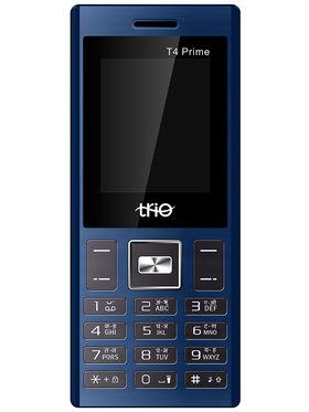 Trio T4 Prime Dual SIM Feature Phone (Blue Black)