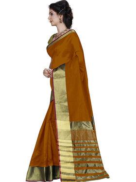 Buy Combo of 3 Zoom Fabric Cotton Silk Plain Sarees_Zmf05 ...