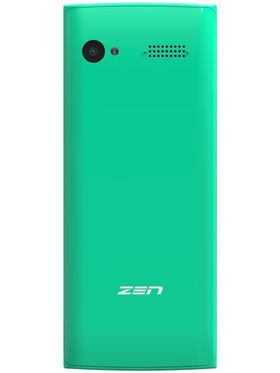 Zen Z15 Dual SIM Basic Phone (Green)