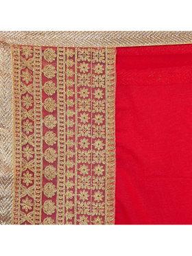Designersareez Georgette Zari Threaded Saree -1973