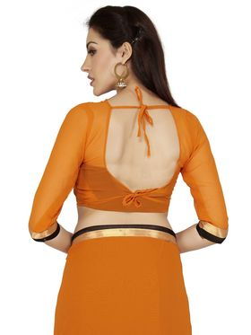 Designersareez Lace Work Georgette Saree -2004