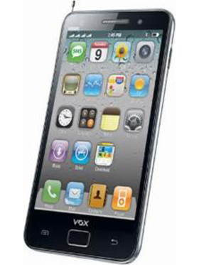 VOX 4 SIM 3.5inch Full Touch Screen TV Mobile - V9500