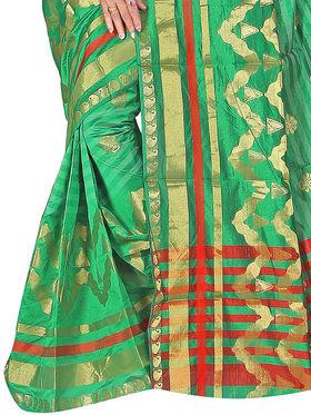 Adah Fashions Light Green South Silk Saree -888-120