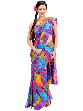 9 Stylish Designer Georgette Sarees