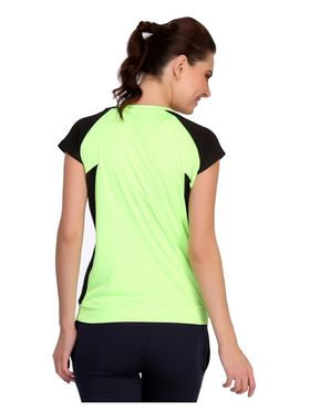 Clovia Polyester Blended Solid T-Shirt -AT0021P11