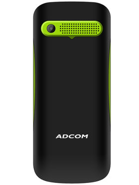 Adcom X3 Power Dual Sim Mobile - Black & Green