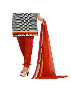 Khushali Fashion Cotton Self Dress Material -Bgssnr44009